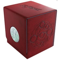 Key Forge Red Vault Deck Box w/ Drawer for Accessories