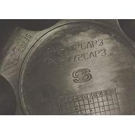 American Racing ATX Black 8 Lug Center Cap for AR767 AR910 AR969 P/N: 1515006022