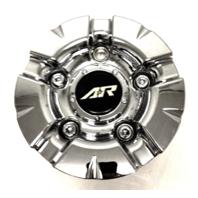 American Racing Chrome Bolt On Center Cap fits AR637 Burn Wheels Part# 1637200011