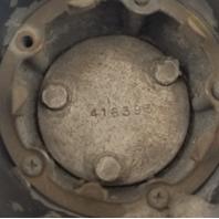 1972-1988 OEM Oldsmobile Cutlass Chrome Wheel Center Cap P/N: 416393
