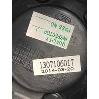 "American Racing ATX Teflon Black 3.07"" Bore Center Cap P/N 1307106017"
