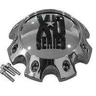 KMC XD Chrome Short 8 Lug Bolt On Wheel Center Cap P/N: 309B1708H