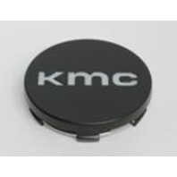 KMC Satin Black Snap On Center Cap for KM686 Wheels P/N: 1934K65-S1