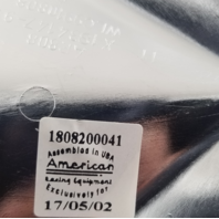 American Racing Chrome Bolt On Center Cap for all AR808 Style Wheels 1808200041