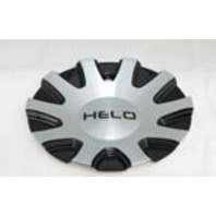Helo Black and Machined Bolt On Center Cap for HE880 Wheels P/N 928L01