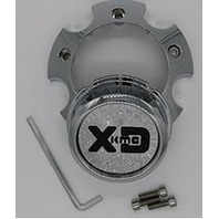 KMC XD Satin Black 5X5.5/150 Center Cap XD200/XD201/XD203 P/N  1079L145ASB1DC-H42