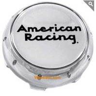 American Racing Chrome Snap In Center Cap for VN870 Wheels P/N F111K80AR