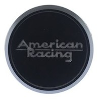 American Racing Satin Black Snap In Center Cap for AR913/AR927 Wheels 6220K74-SB