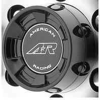 American Racing Gloss Black Push Thru 5x150 Center Cap for AR910 Wheels