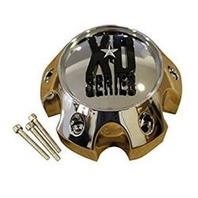 KMC XD Chrome 5X139.7/5x150 Bolt On Center Cap for XD797/798/799/801/807 Wheels