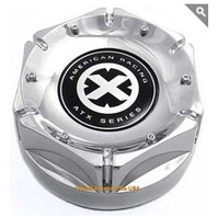 American Racing ATX Chrome 8 Lug Snap In Wheel Center Cap P/N 1500190011