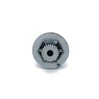 KMC XD Series Rockstar 775 Wheel Replacement Rivet Chrome Plastic Hex Bolt D17