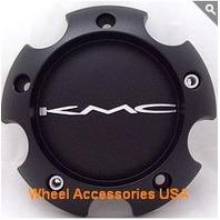 KMC Black Bolt On 5x4.5 Center Cap for KM673 Skitch Wheels P/N 395B1225HYB003