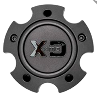 KMC XD Satin Grey 5x127 Bolt On Center Cap for XD834/835 Wheels S057L120SG1-H34