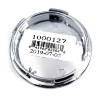 KMC Chrome Snap In Center Cap for Dime/Sector 8 Wheels P/N 1000127