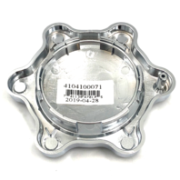 American Racing Chrome Snap In Torq Thrust ST 6 Lug Center Cap for AR101 AR604