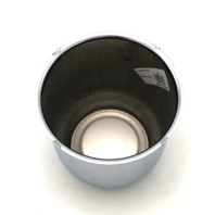 "Topline 3.25"" Chrome Push Thru Wheel Center Hub Cap fits 4 & 5 Lug Wheels C97"