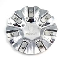 Pasati Aftermarket Chrome Bolt On Center Cap for PA160 Wheels P/N: 160C-CAP