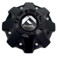 Fuel Offroad Matte Black Center Cap 5 6 8 Lug for D573 D530 D516 D536 D508 D586