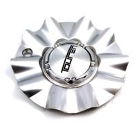 """Touren Silver Bolt-On 14""""-17"""" Center Cap for TR22 Wheels P/N: C103222"""