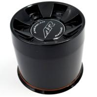 American Racing Gloss Black AR910 Push Thru 8-Lug Wheel Center Cap 1515003019