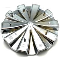 DVS Wheels Chrome Bolt-On Polo 726 Wheel Center Cap P/N: C0271