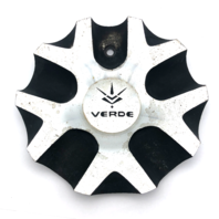 Verde V36 Protocol Black & Machined Wheel Center Hub Cap C-V36