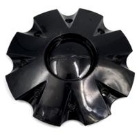 """KMC Gloss Black Wheel Center Cap fits KMC Slide 650 & 651 18"""" 20"""" 22"""" 24"""" 26"""""""