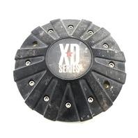 KMC XD Series Matte Black Center Cap Fits All XD778 Monster Wheels P/N 846L215