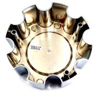 Helo Chrome 8 Lug Bolt-On Center Cap fits HE835 Wheels P/N: 835B8165AA