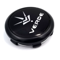"Verde Black Snap In 2.65"" OD Wheel Center Cap P/N: CAP1023-5120-U4B"