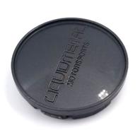 LiquidMetal Motorsports Dark Silver Snap-In Wheel Center Cap P/N: 900165