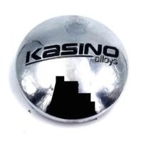 Kasino Alloys Chrome Snap In Wheel Center Cap P/N: 573K65