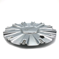 "Gazario Chrome Wheel Center Hub Cap 7.25"" Diameter Bolt On 571-CAP"