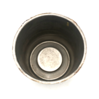 "Modern 8 Lug Wheel Center Hub Cap 5.15"" Diameter Push Thru Stainless Steel"
