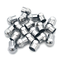 x20 Chrome Tire Wheel Valve Stem Cap Covers for Car Truck Motorcycle