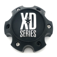 KMC XDSeries 796 797 798 Matte Flat Black 6 Lug Wheel Center Cap 1079L140MB FORD