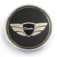 """Hyundai Genesis OEM Chrome HY22 Snap In 2.25"""" Dia Wheel Center Cap P/N: GT-700"""