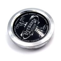 """Versante Wheels Chrome Snap In 2.32"""" Dia Wheel Center Cap P/N: CCVE65-1P"""