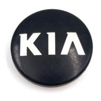 2011-2014 Kia OEM Forte Optima Rio Soul Sportage Black Wheel Center Cap