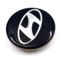"2011-17 Hyundai Elantra Black Snap In 2.25"" Dia Wheel Center Cap P/N:52960-3X500"