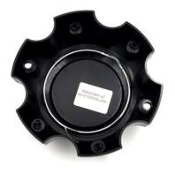 Ultra Motorsport Gloss Black No Logo Bolt On 6Lug Wheel Center Cap P/N: 89-9765