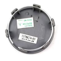 KMC Wheel Center Hub Cap Hyper Silver Snap In T078K74 for KM691 Spin Wheel