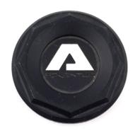 "Adventus Satin Black 2.50"" Dia Snap In Wheel Center Cap P/N: 1937K68-S3"