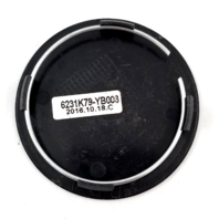 KMC Satin Black Snap In Wheel Center Cap KM700 Revert P/N: 6231K79-YB003
