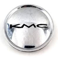 "KMC Chrome Snap-In 3"" Dia Center Cap for KM671 Brodie Wheels P/N 379K77"