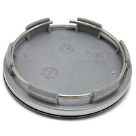 "MB Wheels Aftermarket Black Snap In Wheel Center Hub Cap 2.25"" OD C-284-1"