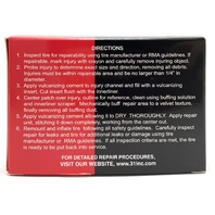 "Xtra Seal (50) 4"" Fat Brown Radial Inserts Vulcanizing Tire Plug Repair 12-361"