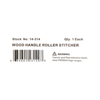 Xtra Seal Wood Handle Tire Patch Repair Roller Stitcher 14-314