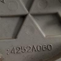 2008-2015 OEM Mitsubishi Lancer Silver Snap In Wheel Center Cap P/N: MR554097